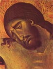 From a Crucifixion by Cimabue